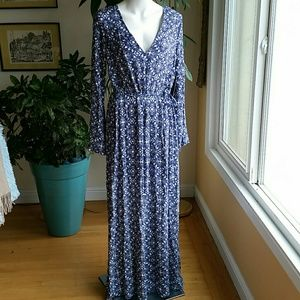Lulus maxi dress new with tags size Large